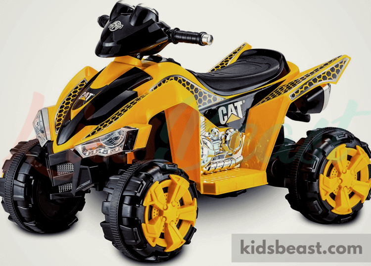 Caterpillar Toddler Electric Ride by Kid Trax